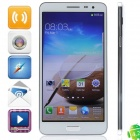 "KVD N8000 MTK6582 Quad-Core Android 4.2.2 WCDMA Bar Phone w/ 5.5"", FM, GPS, 1GB RAM, 4GB ROM - White"