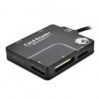 3305 Multifunction Micro USB Card Reader for Samsung Galaxy Note 3 - Black