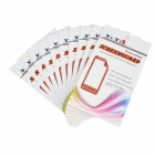 ARM Screen Protectors w/ Cleaning Cloths for Samsung Galaxy S4 Active i9295 - Transparent (10 PCS)