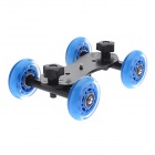 DeBo IV Video Slider Track Dolly Car for DSLR Cameras - Blue + Black