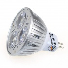 ZHISHUNJIA DB-YM302 MR16 3W 3000K 280-Lumen 3-LED Warm White Lighting Bulb (AC 12V)