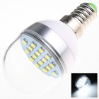 E14 6W 280lm 5500K 16 x SMD 5730 LED White Light Lamp Bulb - White (AC 220~240V)