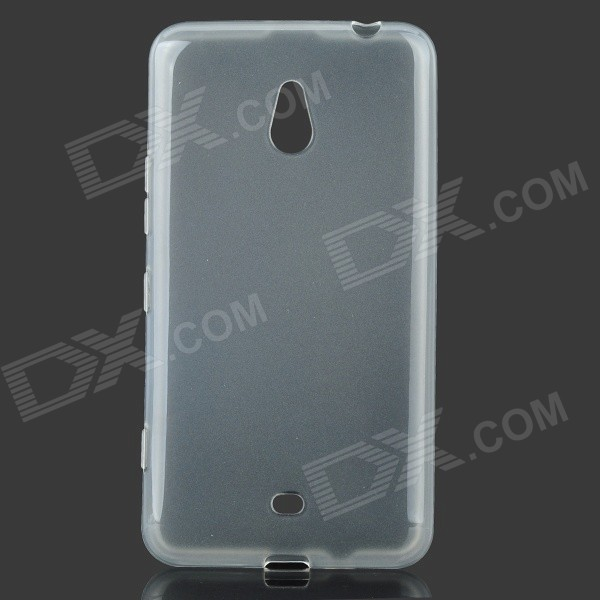 цена на LX-1320 Protective TPU Back Case for Nokia Lumia 1320 - Transparent