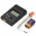 "TM902C  Portable 2"" Screen Digital Thermometer - Black (1 x 9V Battery)"