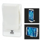 Mini Foldable Desktop Stand for Samsung / IPHONE / IPAD / IPOD - White