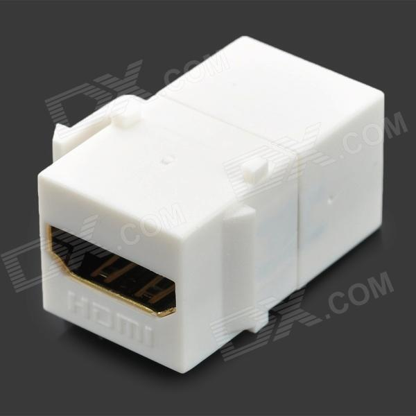 HDMI Female to Female Adapter - White нью йорк
