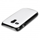 Protective Aluminum Alloy + Plastic Back Case for Samsung Galaxy S3 Mini / i8190 - Silver