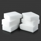Professional Car Washing Cleaning Sponge Pads - White (6 PCS)