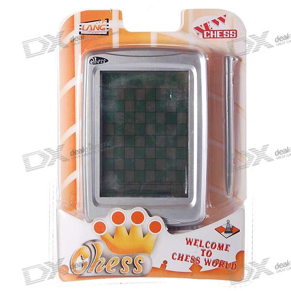 "4.0"" Touch Screen Chess Game Console (2*AAA)"