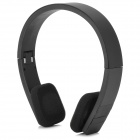 BH-600 Folding Bluetooth V3.0 Stereo Headphone w/ Mic / USB - Black