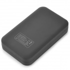 "Dual USB 5V ""8600mAh"" Li-Polymer Battery Power Bank w/ LED for IPHONE 5 / 5S + More - Black"
