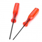 Cross and Trigram Screw Drivers 2-piece Kit for NDS NDSL and Wii