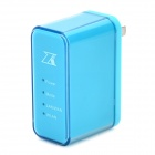 W58 3G Wireless 150Mbps IEEE 802.11n / b / g Relay - Aquamarine