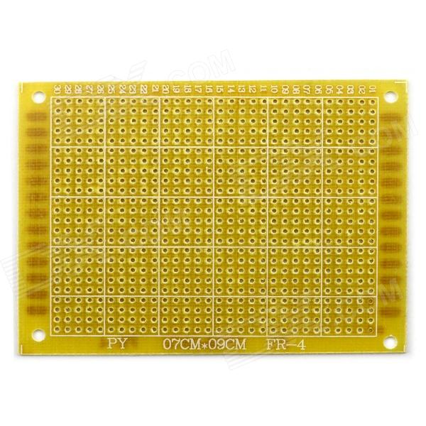 Jtron 9 x 7cm Universal Glass Board - Yellow