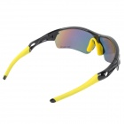 TOPCYCLING PC Frame TR90 Lens Cycling Polarized Sunglasses - Black