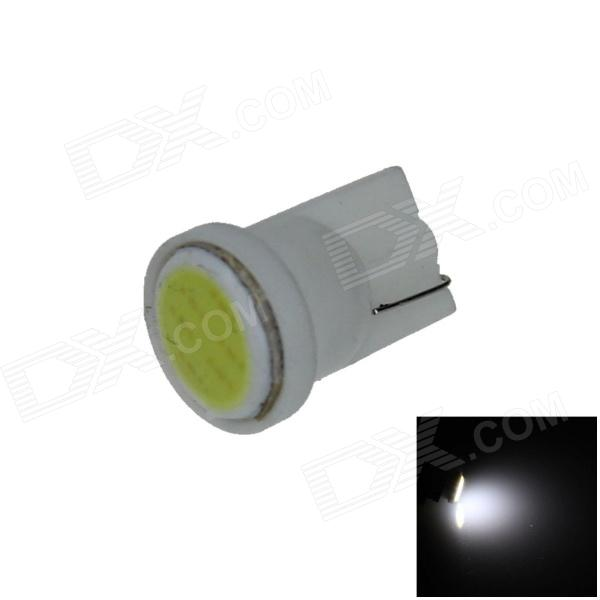 T10 / 2528 / W5W 1W 80lm 1-COB LED White Car Instrument lamp / Side / Instrument Light - (12V)
