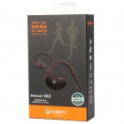 SUICEN AX-663 Bluetooth V4.0 Stereo Headset Headphones with Microphone - Black