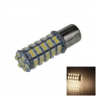 BA15S / 1156 3.4W 300lm 68 x SMD 1210 LED Warm White Car Signal Light / Steering Lamp - (12V)