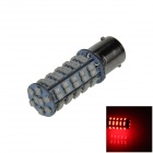 BA15S / 1156 3.4W 300lm 68 x SMD 1210 LED Red Car Signal Light / Steering Lamp / Headlamp - (12V)