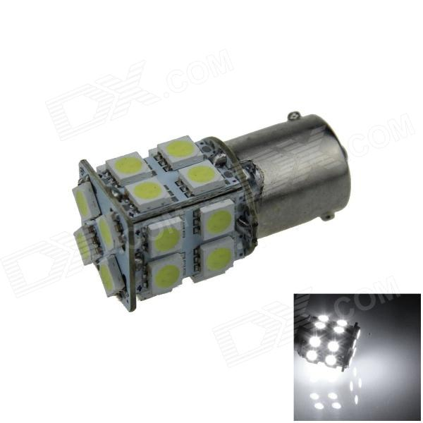 1141 / BA15S / 1156 4W 280lm 20 x SMD 5050 LED White Car Turn Signal Light / Steering Lamp - (12V)