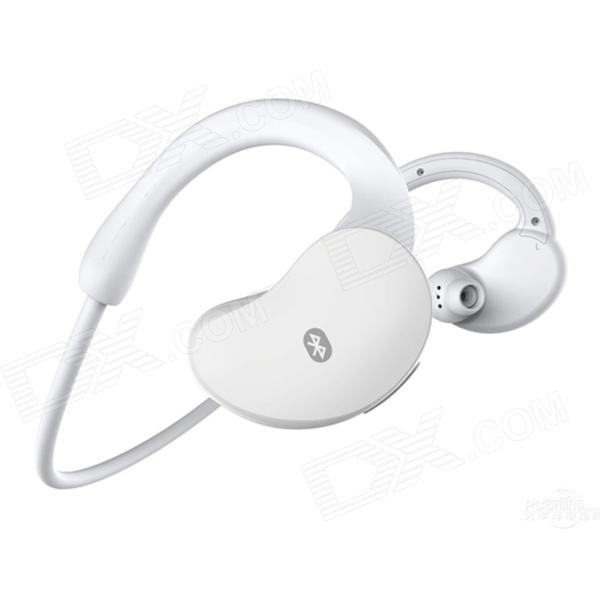 SUICEN AX-663 Bluetooth V4.0 Stereo Headset Headphones with Microphone - White push button switch xb4 series zb4bg2 zb4 bg2 page 1