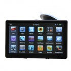 "Ultra-thin 7"" Touch Screen LCD WinCE 6.0 GPS Navigator w/ FM + Internal 4GB America Map - Light Blue"