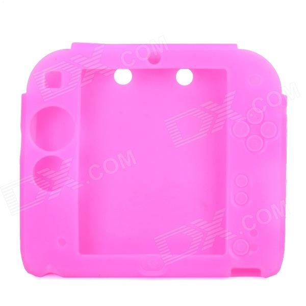Stylish Protective Silicone Case for Nintendo 2DS - Pink