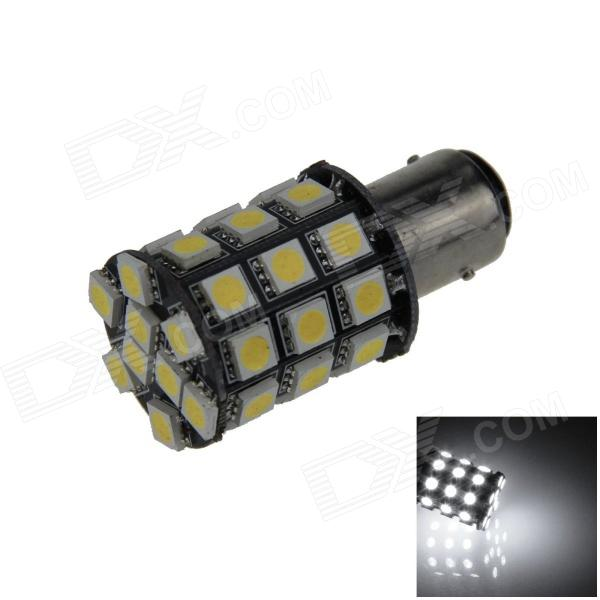 BAY15D / 1157 7W 550lm 36 x SMD 5050 LED White Car Turn Signal Light / Steering / Brake Lamp - (12V)