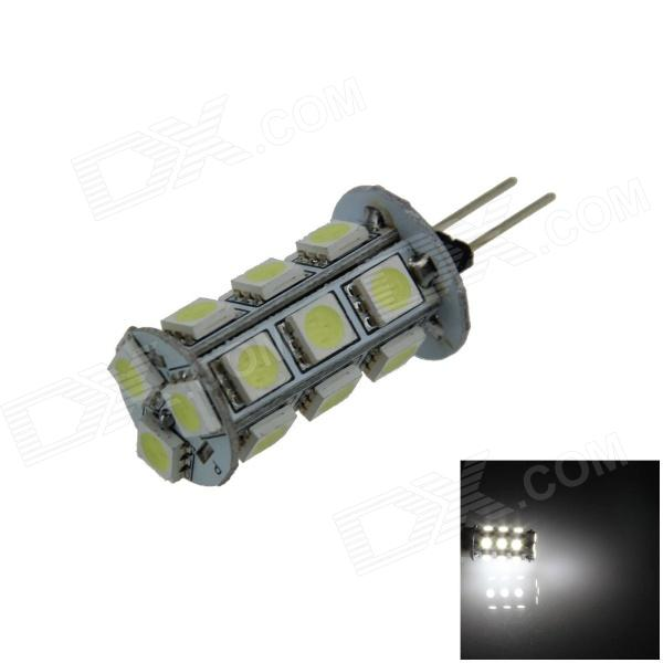 G4 3.6W 300lm 18-LED Cold White Car Instrument / Reading Lamp (12V)