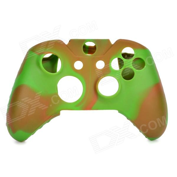 Protective Silicone Case for XBox One Controller - Camouflage Green protective silicone cover case for xbox 360 controller yellow blue