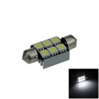 Canbus Festoon 36mm 1.5W 80lm 6-SMD 5050 LED White Car Roof light / Reading Lamp w/ Heat Sink (12V)