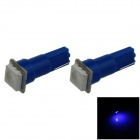 T5 0.2W 18lm 1 x SMD 5050 lâmpada LED Blue Light Car Instrumento Lamp / Indicador - (DC 12V / 2 PCS)