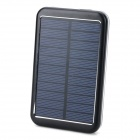 Was S-6000T High Quality'''' 8000mAh Solar-USB-Energien-Bank w / LED-Anzeige für iPhone / iPod / iPad