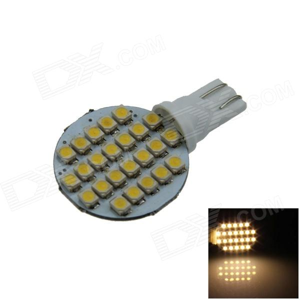 T10 2W 160lm 24 x SMD 1210 LED Warm White Polarity Free ...