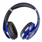 Feiner FE-151 Stereo Headphones Headset w/ Microphone - Dark Blue (3.5mm)