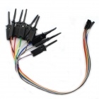 Jtron Logic Analyzer Test Clip - preto (10 PCS)
