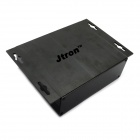 Jtron aluminio PCB / receptor de Shell / Junction Box - Negro