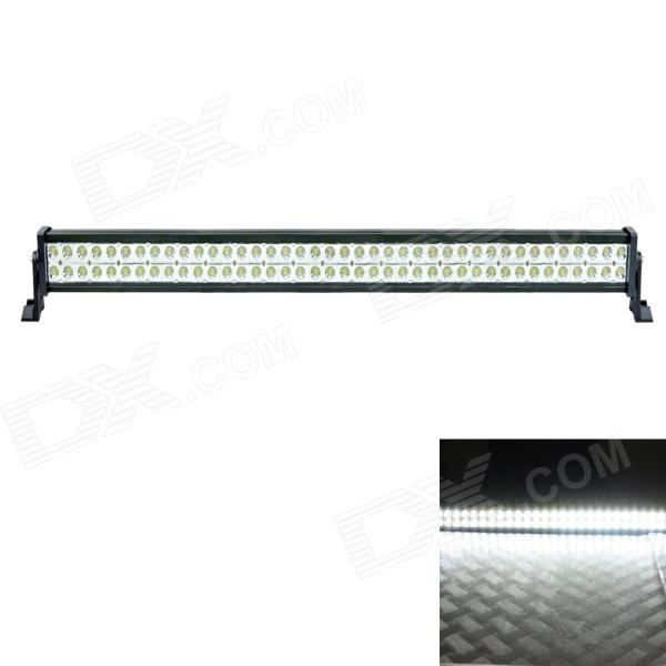 12 Degree Spot Beam 240W 16800lm 6000K 80-LED White Light Car Roof Light - Black (DC 10~30V)