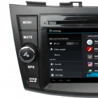 "LsqSTAR 7"" Android 4.0 bil DVD spiller med GPS, RDS, Wi-Fi, PIP, SWC, Radio, 3DUI, Dual sone for Suzuki SWIFT"