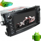 "LsqSTAR 7"" Android 4.0 Car DVD Player w/ GPS,RDS,WiFi,PIP,SWC,Radio,BT,Dual Zone for Toyota Corolla"
