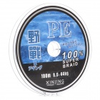 YZ 8.0 PE Super Braid Lures Fishing Line - Grey (100m)