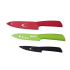 "RIMON TAZ456BGR 4"" + 5"" + 6"" Kitchen Zirconia Ceramic Knives Set - Black + Green + Red"