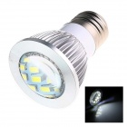 TZY D2 E27 6W 220lm 5500K 16 x SMD 5730 LED White Energy Saving Light Bulb - White (AC 220~240V)