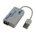 Winyao USB100FX USB 2.0 to 100M Fiber Fast Ethernet Adapter Network Card - White