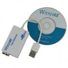 Winyao USB100FX USB 2.0 100M fibra Fast tarjeta de red Ethernet Adapter - White