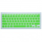 "CHEERLINK J-11 Ultra-thin Protective TPU Keyboard Cover for Apple Macbook 11"" - Grass Green"