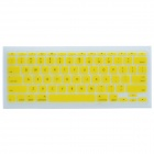 "CHEERLINK J-11 Ultra-thin Protective TPU Keyboard Cover for Apple Macbook 11"" - Yellow"