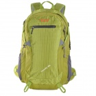 Creeper YD-198 Professional Mountaineer extérieure Nylon Backpack Voyage - Green Grass (40L)