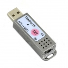 Jtron HID/TEMPer1 Coffers Ribbon Probe Machine Monitoring / PC USB Temperature Logger - White +Black