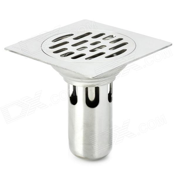 PHASAT C21 Stainless Steel Deodorant Floor Drain - Silver free shipping 80cm 304stainless steel floor drain bathroom kitchen shower square floor waste grate sanitary dr080